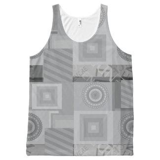 Grey asymmetric pattern