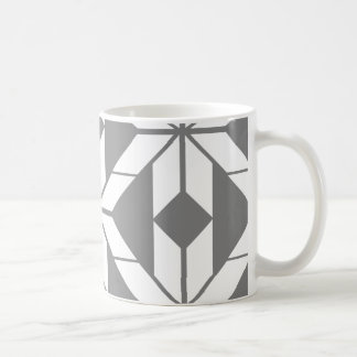 Grey Aztec Geometric Design Mug