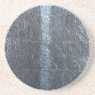 Grey background metal texture strings template DIY Drink Coaster