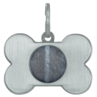 Grey background metal texture strings template DIY Pet Tags