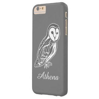Grey Barn Owl Customized iPhone 6/6s Plus Case