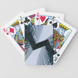 Grey Bicycle Playing Cards