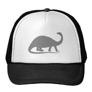 Grey Brontosaurus Trucker Hat