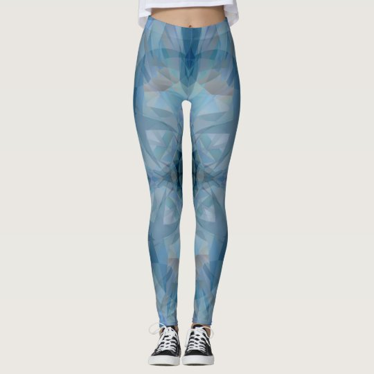 Grey Butterflies Leggings