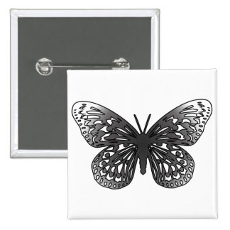 Grey Butterfly Pins