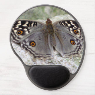 Grey Butterfly Colour Image - Gel Mouse Pad