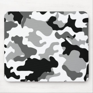 Grey Camo Mousepad