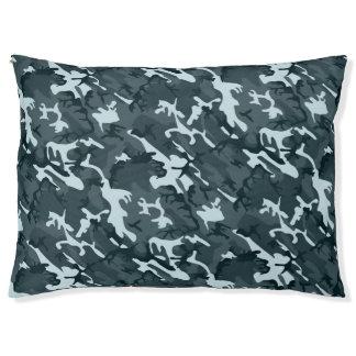 Grey Camo Pet Bed