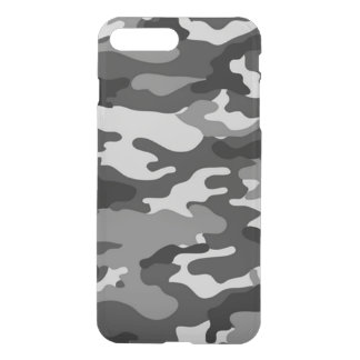 Grey Camouflage iPhone7 Plus Deflector Case