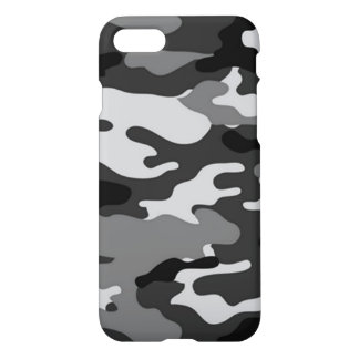 Grey Camouflage iPhone 7 Case
