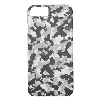 Grey Camouflage iPhone 8/7 Case