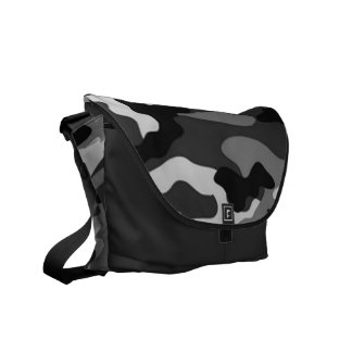 Grey camouflage | Messenger Bag