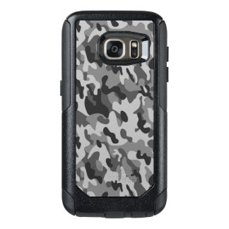 Grey Camouflage style Samsung Cases
