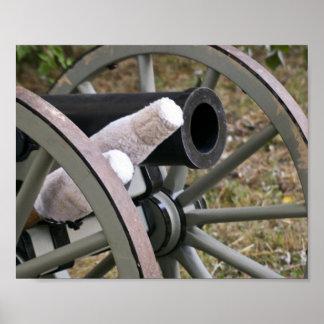 """""""Grey Cannon"""" Fine Art Print"""