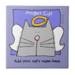 Grey Cat Angel Personalize
