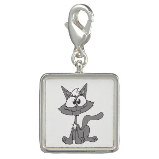 Grey Cat Charms