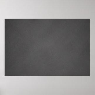 Grey Chalkboard Background Black Chalk Board Poster