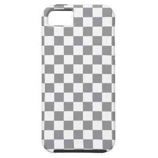 Grey Checkerboard Case For The iPhone 5