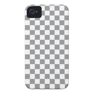 Grey Checkerboard Case-Mate iPhone 4 Case