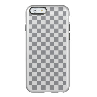 Grey Checkerboard Incipio Feather® Shine iPhone 6 Case