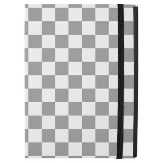 """Grey Checkerboard iPad Pro 12.9"""" Case"""