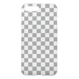 Grey Checkerboard iPhone 8 Plus/7 Plus Case