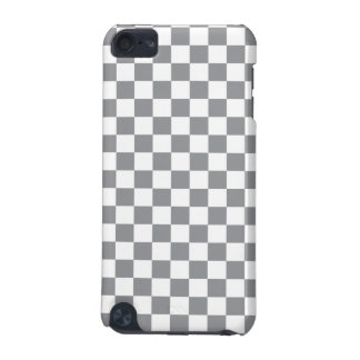 Grey Checkerboard iPod Touch (5th Generation) Cases