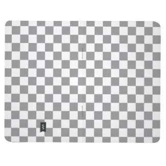 Grey Checkerboard Journal