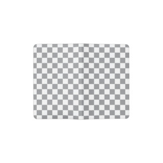 Grey Checkerboard Pocket Moleskine Notebook