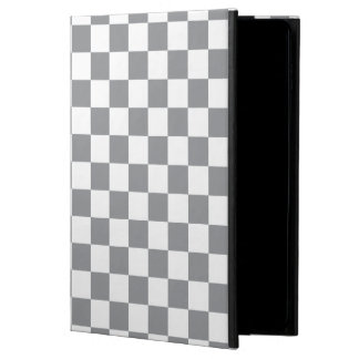 Grey Checkerboard Powis iPad Air 2 Case