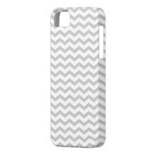 Grey Chevron iPhone 5 Case
