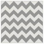 Grey Chevron Fabric, Nursery Fabric