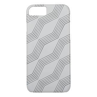 Grey Chevron iPhone 7 Case