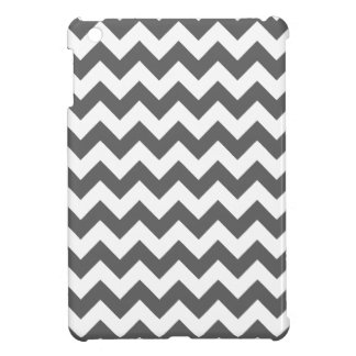 Grey Chevron Pattern iPad Mini Case