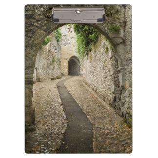 Grey Cobblestone street, France Clipboards