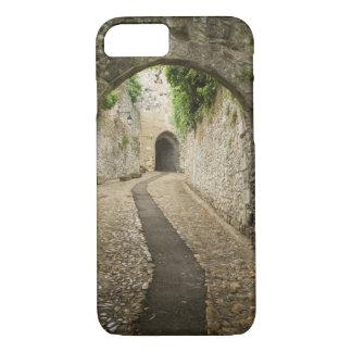 Grey Cobblestone street, France iPhone 7 Case