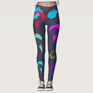 Grey Colorful Pixie Leggings