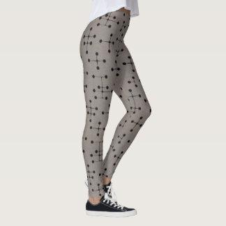 Grey Constellation Leggings