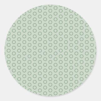 grey dab score grey darkly circle retro spot round stickers