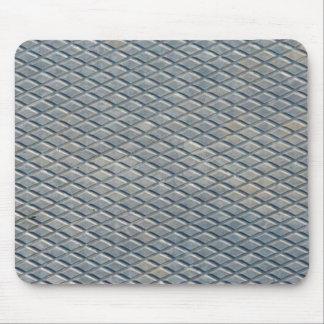 Grey Diamond Mouse Pad