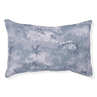 Grey Digi Camo Pet Bed