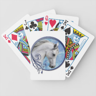 Grey Dream Bicycle Playing Cards