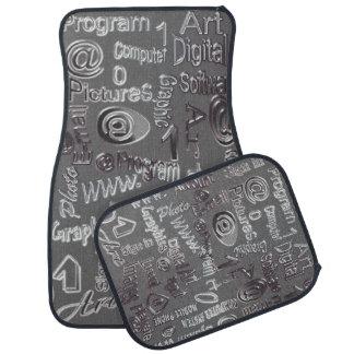 Grey examined auto mat