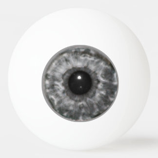Grey Eyeball Ping Pong Ball