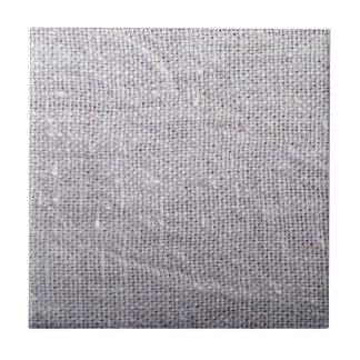 Grey fabric background burlap tile