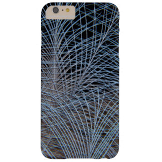 Grey Feather Abstract Barely There iPhone 6 Plus Case