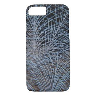 Grey Feather Abstract iPhone 8/7 Case