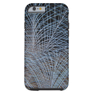 Grey Feather Abstract Tough iPhone 6 Case