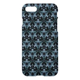 Grey Fractile iPhone Case