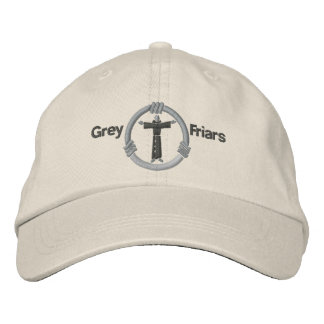 Grey friars embroidered hat